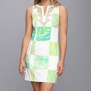 Lilly Pulitzer Janice Shift Lioness Patch